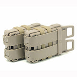 FMA Module Combination Two Holder Magazine Pouch for Rifle 5.56 Mag M4 Magazine