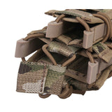 FMA Airsoft Magazine Pouches Double Mag Pistol Rifle Molle for M4 M16 AK Glock
