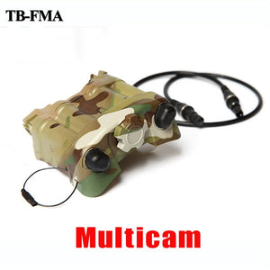 Tactical AN/PVS-31 NVG Battery Box Case Dummy Model Multicam for Night Vision Goggle