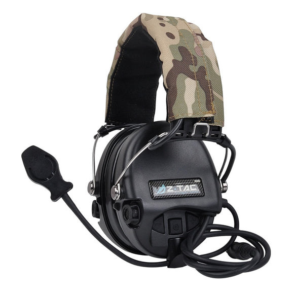Tactical Headphone  Military Standard Headset Noise Canceling Aviation Walkie Talkie