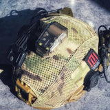 OPSMEN New Survival Flash Light Multi-function Waterproof & Seismic IR Light Frequency for Helmets & Molle