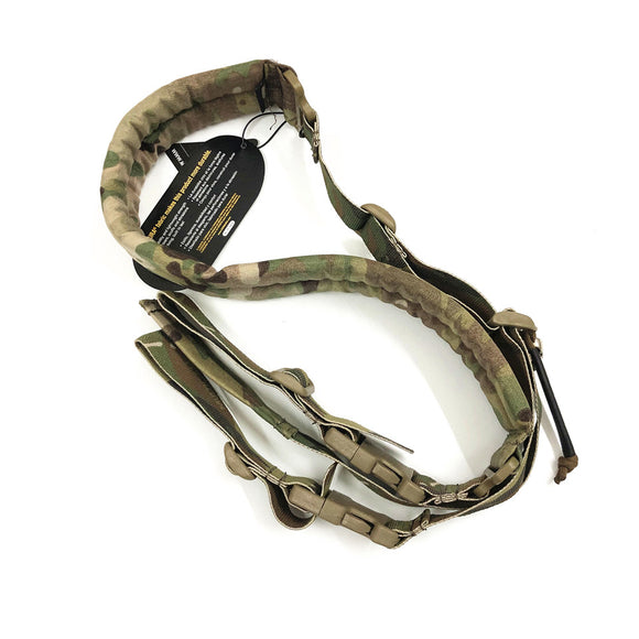 Emerson New Quick Adjust Padded 2 Point Sling Multicam Black for Military Gun Sling Gear