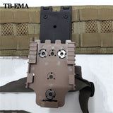 FMA Holsters Safariland Molle Platform for Plate Back Waist Paragraphs Waist Clip Free Shipping