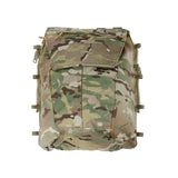 TMC Multicam Military Airsoft Tactical Vest Zipper Pouch Bag Zip Panel Back Pack NG Ver Free Shipping