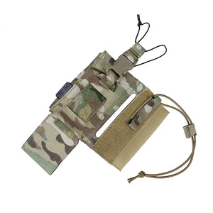 TMC Multicam Tactical Pouches 148/152 Radio Pouch Walkie Talkie Bag for Outdoor Airsoft SPC Tactical Vest