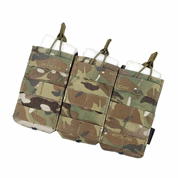 TMC Triple Molle 556 Magazine Pouch MOLLE Vest Trigeminy Tactical Pouches Storage Bag