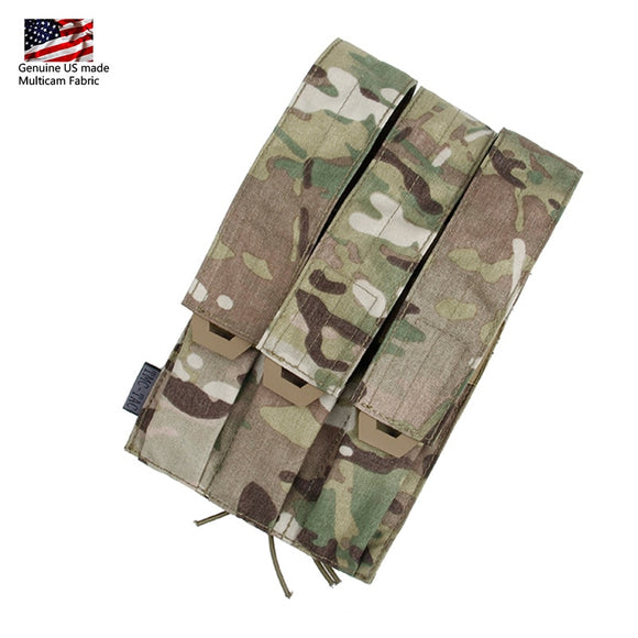 TMC Tactical Triple Magazine Pouch Kriss Vector MOLLE Mag Carrier SMG Mag Camo Military Molle