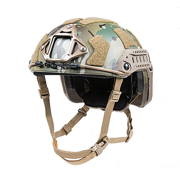 Tactical Helmet SF Super High Cut Helmet Multicam for Special Combat Helmets
