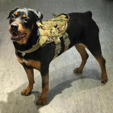 TMC Tactical Dog Harness Vest Multicam Medium for Hunting Military Dog Vest