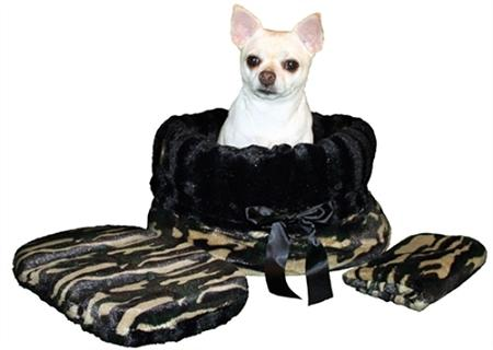 Snuggle Bugs Dog Bed, Bag, and Car Seat in One