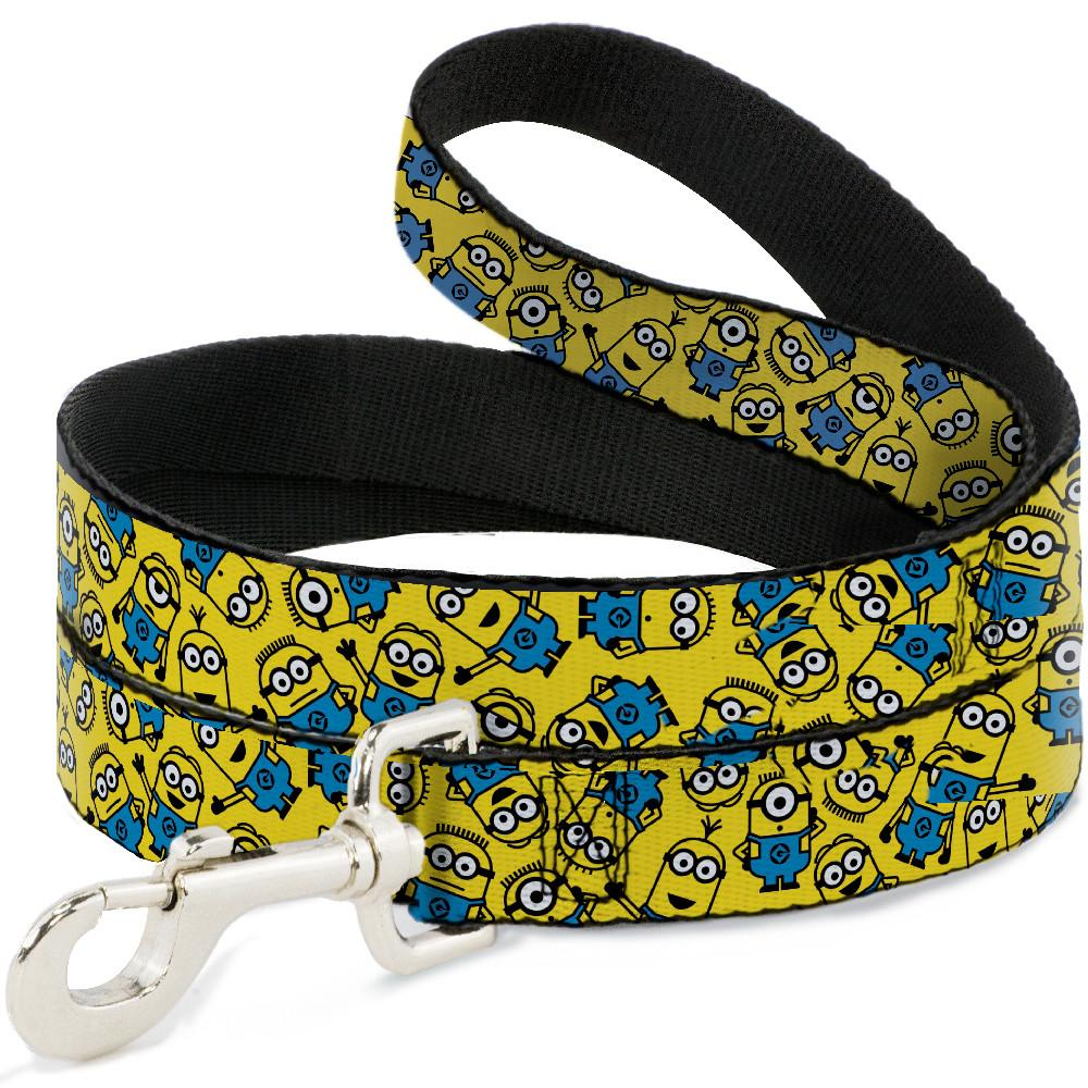 Buckle-Down Minions Scattered Yellow Pet Leash