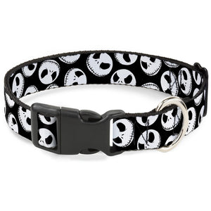 Buckle-Down Nightmare Before Christmas Jack Expressions Pet Collar - Small