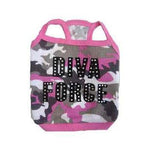 Diva Force Camo Dog Tank Top For Chow Chow Malta French Bulldog
