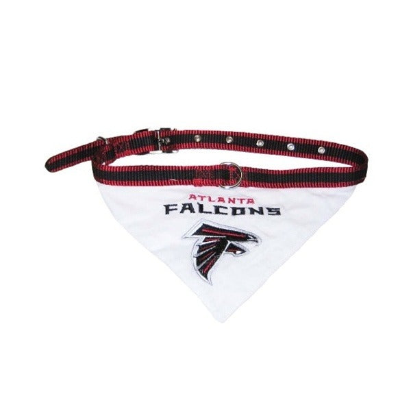 Atlanta Falcons Dog Collar Bandana - Medium