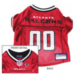Atlanta Falcons Dog Jersey - X-Small