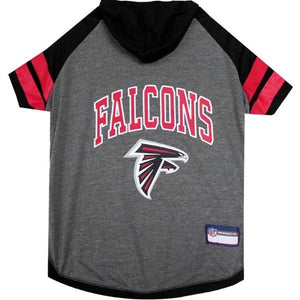 Atlanta Falcons Pet Hoodie T-Shirt - X-Small