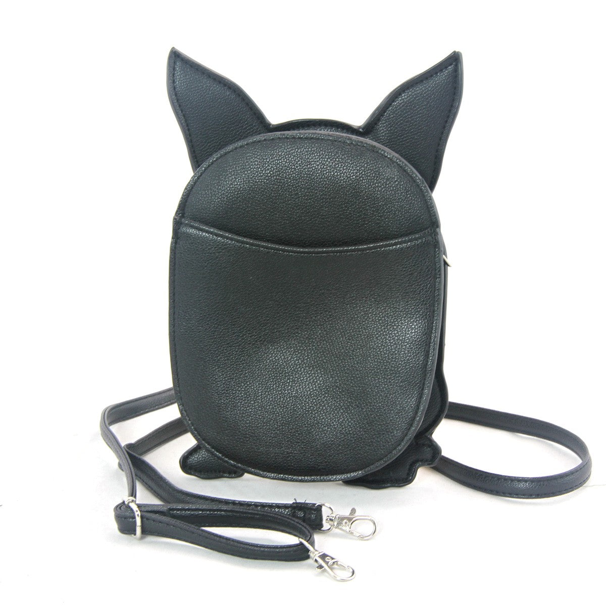 French Bulldog Crossbody Bag in Vinyl Material