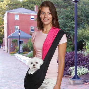 Sling Dog Carrier for maltas, french bulldogs, chow chow