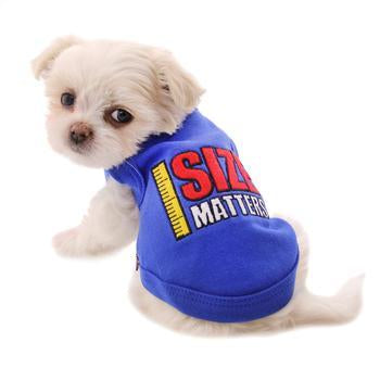 Size Matters Dog Tank by Parisian Pet for Labradoodle, french bulldog