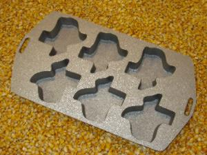 Texas Cast Aluminum Muffin Pan