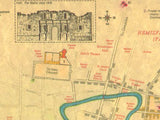San Antonio de Bexar 1836 Map