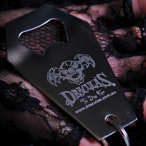 Dracula's Bottle Opener Key Ring