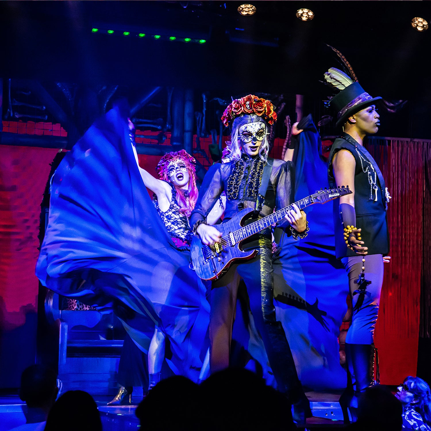Live On Stage Dracula's Cabaret Gold Coast 'Muertos' Cast