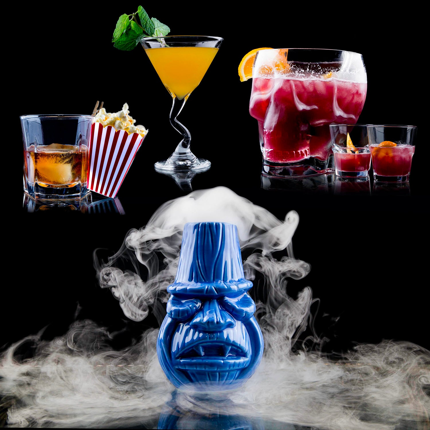Dracula's Signature House Cocktails