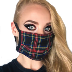 Tartan Washable Cloth Face Mask