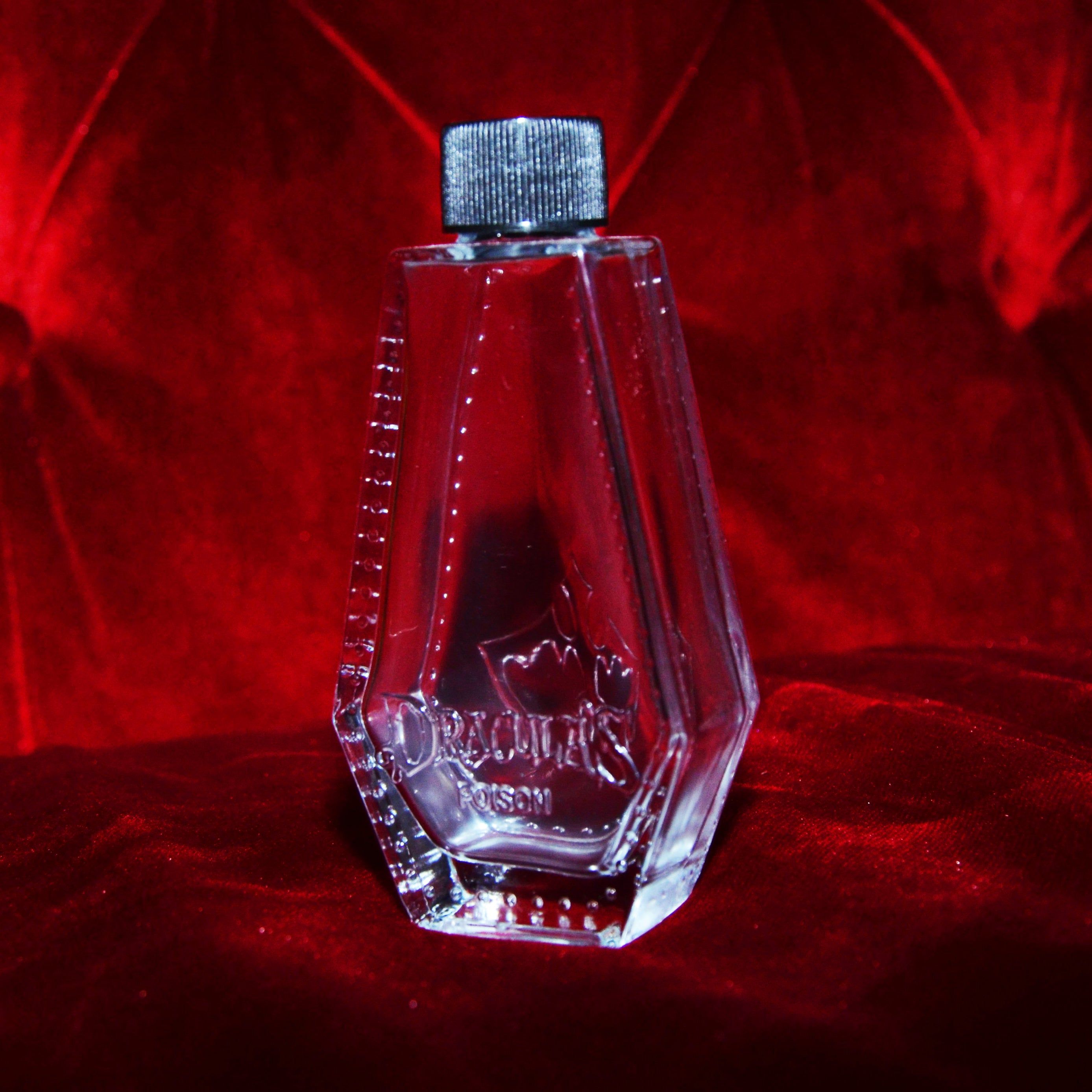 Dracula's Glass Coffin Flask