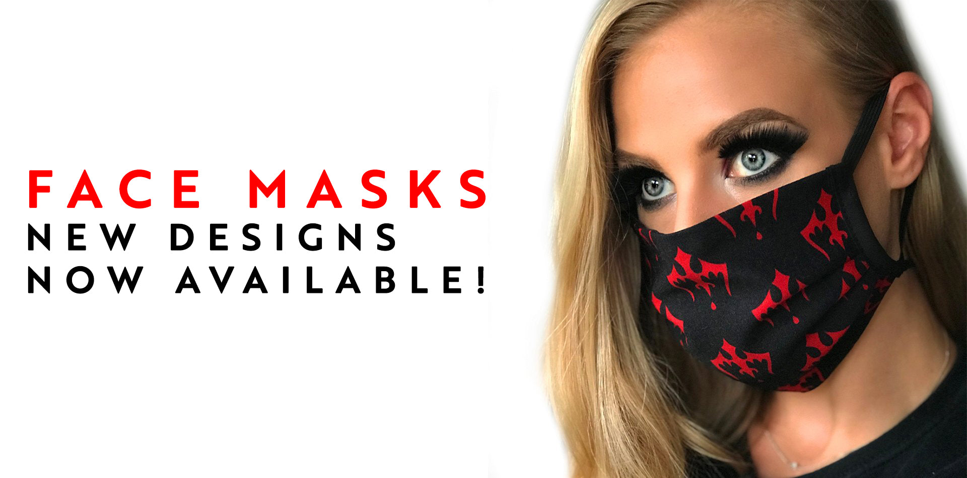 Dracula's Washable Cloth Face Masks