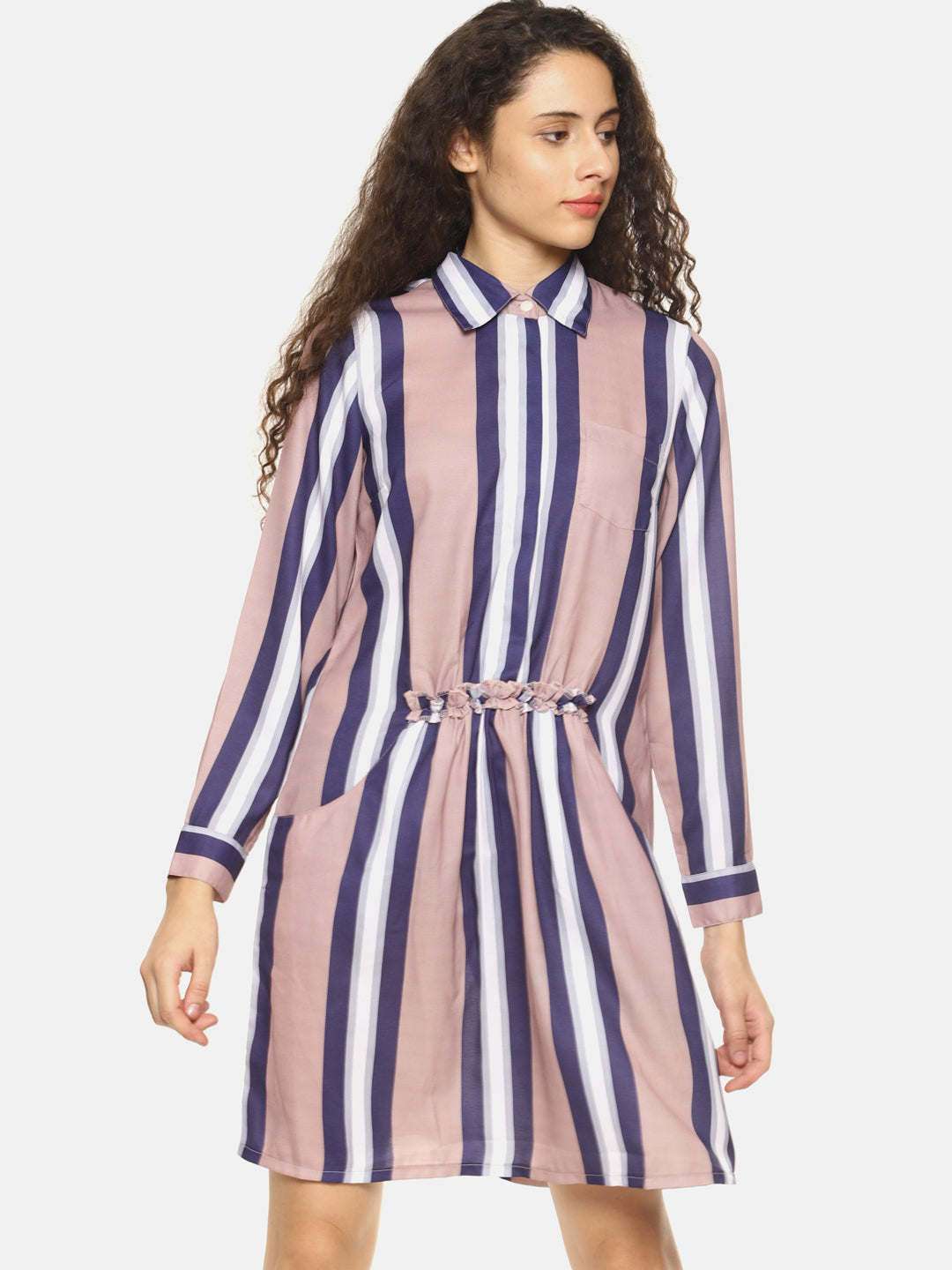 SAHORA Women striped dress