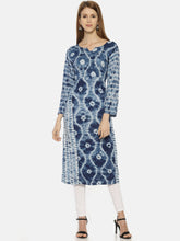 RESHA printed straight long kurta