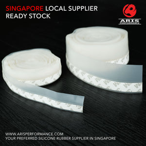 Silicone Door Seal Strip With 3M Adhesive Tape