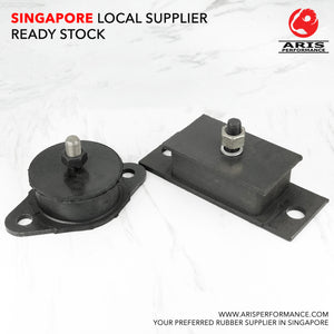 2-Hole Engine Mount : Male