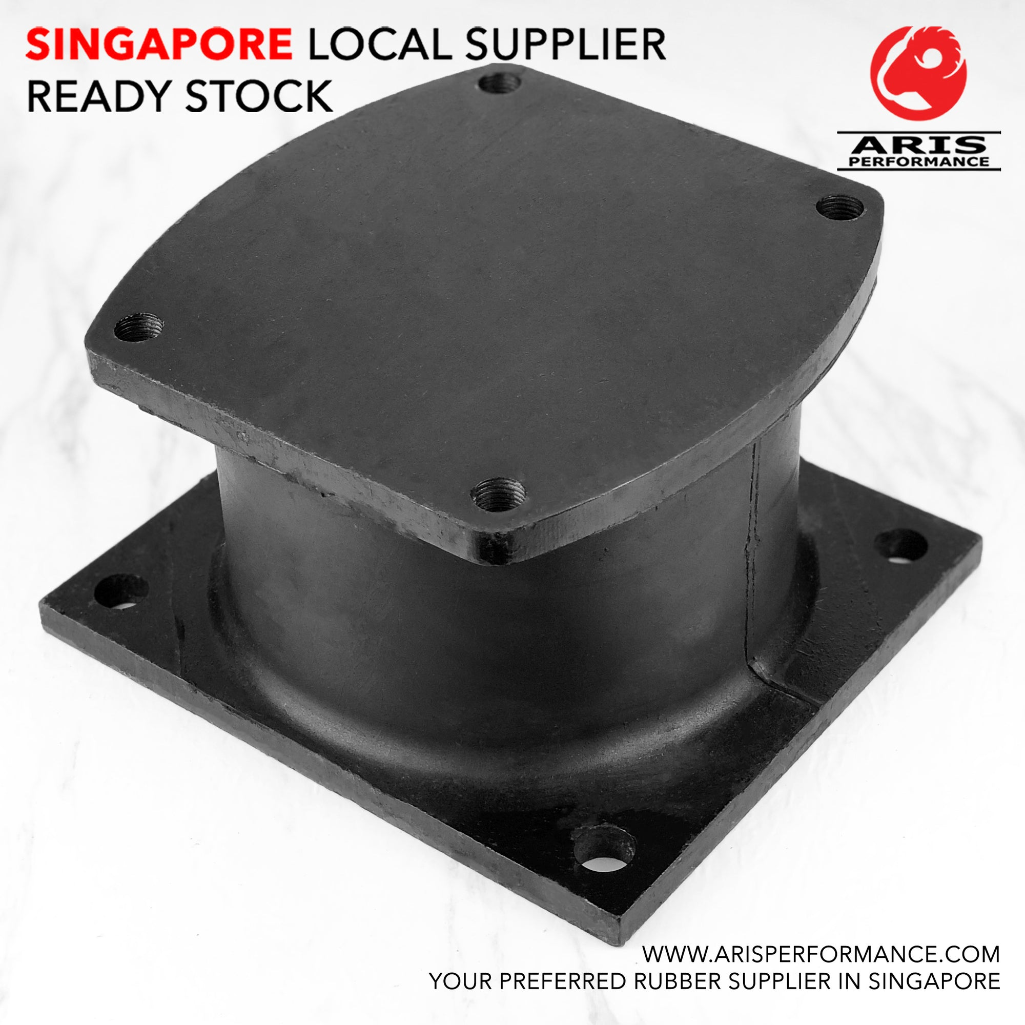 Compactor Roller Vibration Mount / Shear Mount