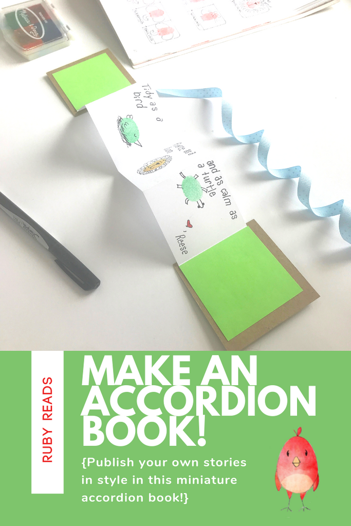How to Make a Teeny-Tiny Accordion Book