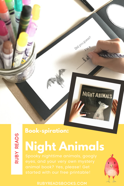 Book-spiration: Night Animals