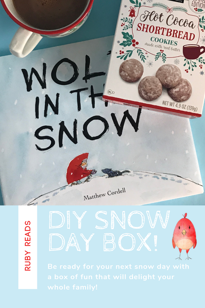 DIY snow day box