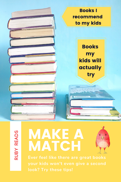Tips and Tricks: Getting Your Kids to TRY New Books!