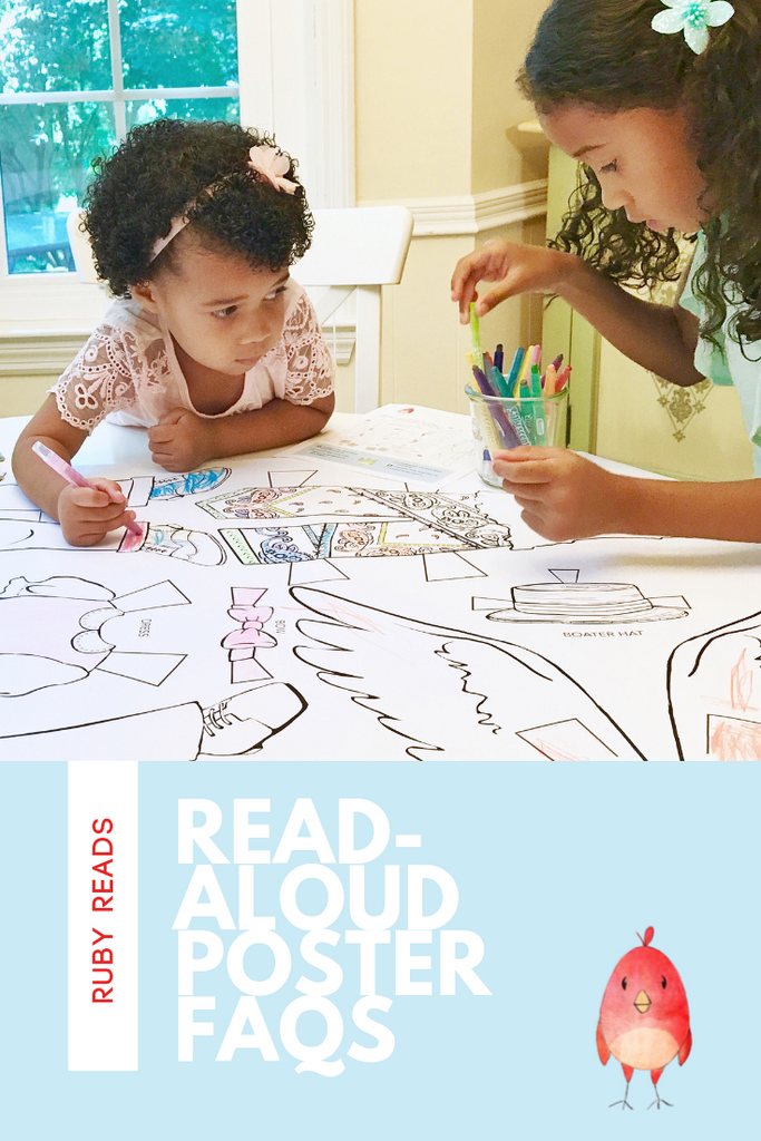 Read-Aloud Posters: You've got questions, we've got answers!