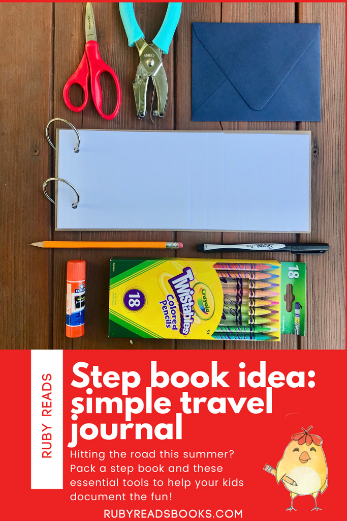 Make a Simple Travel Journal Kit