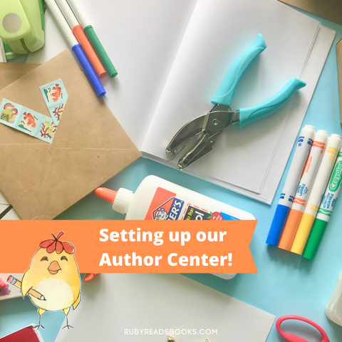 setting up an author center