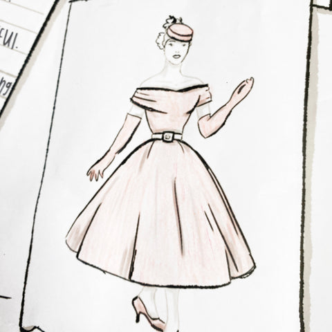 One Hundred Dresses coloring