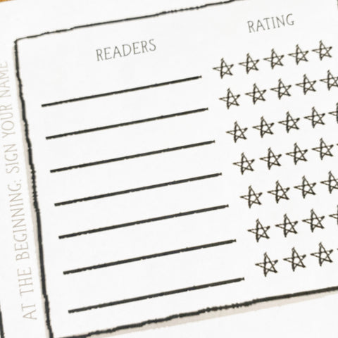Readers and Ratings block on Read-Aloud Poster