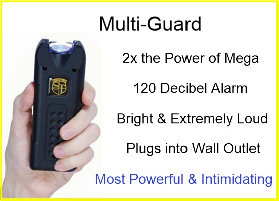 Multi-Guard stun gun