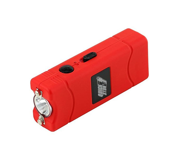 Red - Mega Quick Stun - 12 million volt - 4.5ma - mini stun gun - flashlight