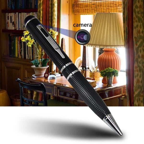 Pen - Hidden Camera Audio Recorder - Camcorder - Photo Taking -2 Hours Battery Life - Portable Pocket Digital Recorder DVR - 16GB Memory plus 3 Ink Refills - for Business and Conference