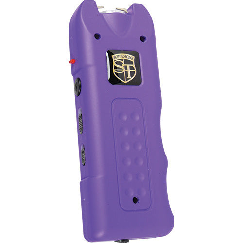 Purple - Multi-Guard Stun - 20 million volt - 4.9ma - small stun gun - Alarm - Flashlight