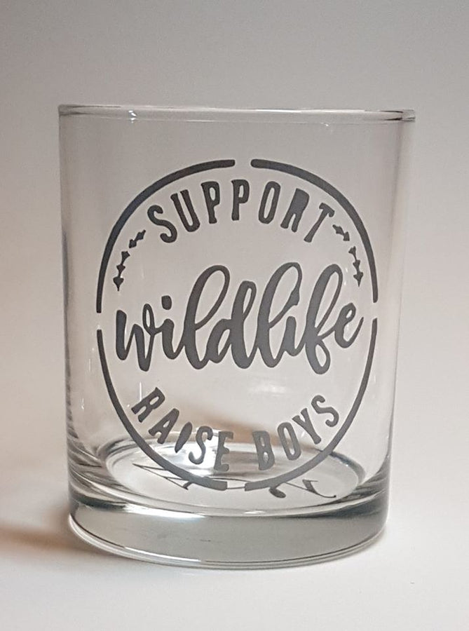 Verre Support Wildlife Raise Boys